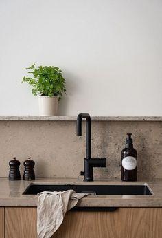 Nordic Kitchen, Home Decor Kitchen, Kitchen Interior, New Kitchen, Küchen Design, Front Design, House Design, Interior Desing, Interior Design Inspiration