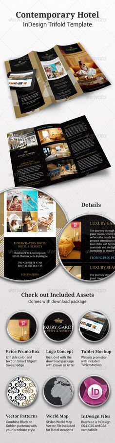 72 Best Hotel Brochure Images Page Layout Editorial Design