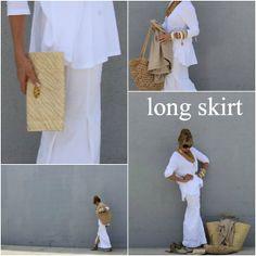 Tamera Beardsley: capsule wardrobe - white and cream