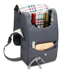 Take a look at this Carnaby Wensleydale Wine & Cheese Cooler Tote by Picnic Time on #zulily today!