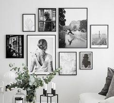 Billedvæg smuk fotokunst - Lilly is Love Room Wall Decor, Living Room Decor, Bedroom Decor, Bedroom Interiors, Wall Decor Frames, Wood Frames, Inspiration Wand, Design Inspiration, Design Ideas