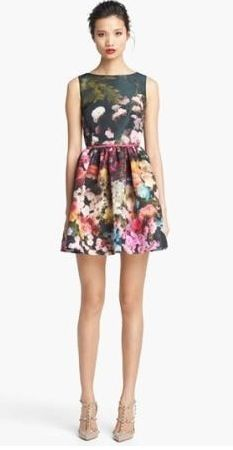 Cute flowery dress. NORDSTROMS