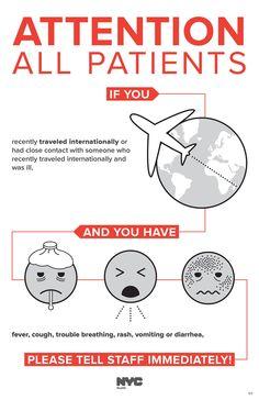 NYC health ebola poster