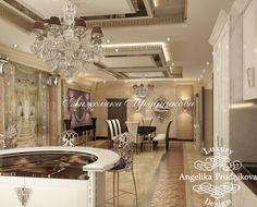 в КП «Villagio Estate» Дизайн интерьера коттеджа в стиле арт-деко в КП «Villagio Estate» - фото Art Deco, Luxury, Villa