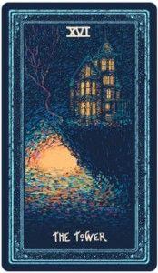 Xem Lá The Tower - Prisma Visions Tarot bài tarot Tarot Tattoo, Moon Signs, Tarot Readers, Christian Bale, Major Arcana, Human Condition, Oracle Cards, Cultura Pop, Samhain