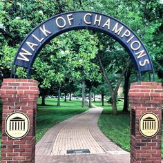 The Walk of Champions in the Grove at Ole Miss: News – The Good South