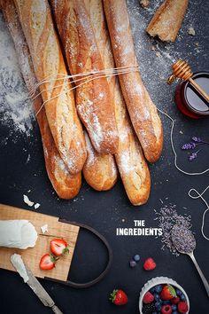lavendar honey crostini | designlovefest