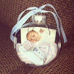 Baby keepsake ornaments