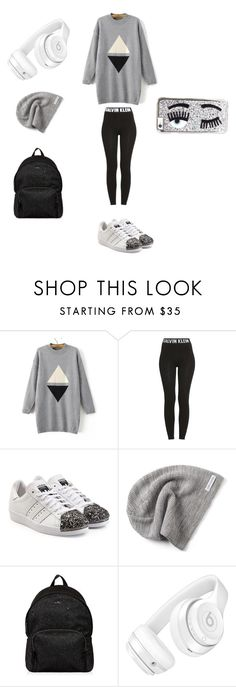 """""""Comfort look"""" by federica-gironacci on Polyvore featuring WithChic, Calvin Klein, adidas Originals, Converse, Hogan, Beats by Dr. Dre e Chiara Ferragni"""