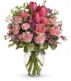 Best sites for Valentine Bouquets & Flowers | The TOTEFISH Blog.  Kabloom $42