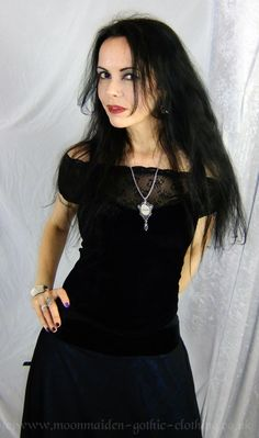 Moonmaiden Gothic Clothing -  Juliette Bodice