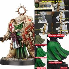 Warhammer Dark Angels, Dark Angels 40k, Orks 40k, Warhammer 40000, Army Colors, Wood Elf, Painting Tips, Painting Techniques, Warhammer 40k Miniatures