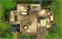 sims cottage - Google Search