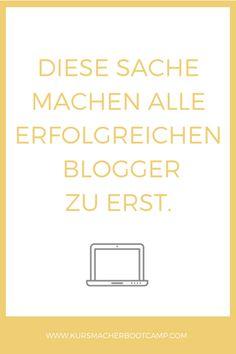 Wenn du mit deinem Blog Geld verdienen möchtest, musst zuerst diese eine Sache definiert haben.