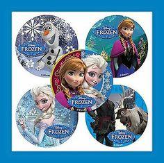 15 Frozen Olaf Anna Elsa Disney Movie Stickers Party Favors
