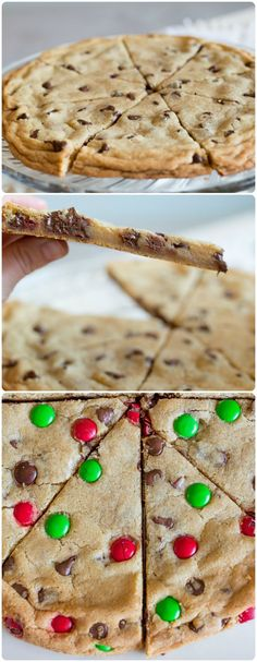 Cookie Pizza: The most amazing cookie recipe you will ever find, and makes an awesome gift! Giant Cookie Recipes, Basic Cookie Recipe, Italian Cookie Recipes, Cookie Desserts, Just Desserts, Delicious Desserts, Yummy Food, Dessert Recipes, Giant Cookies