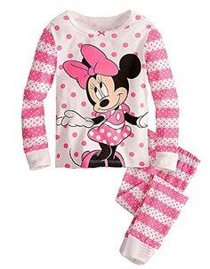 6d9504b99b61 Disney® Minnie Mouse Toddler Girls 4-Piece Pajama Set -  19.99