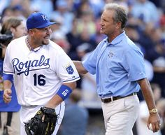 George Brett and Billy Butler