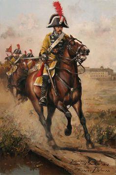 Dragones de Numancia 1808. Acción de Portillo 31-12-1808