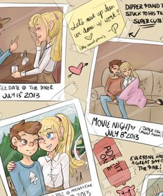 dipper and pacifica grown up - Google Search