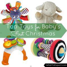 A roundup of the best baby toys to gift your little one for Christmas