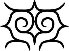 フクロウのイラスト素材 – アイヌ文様フリー素材【モレウ】