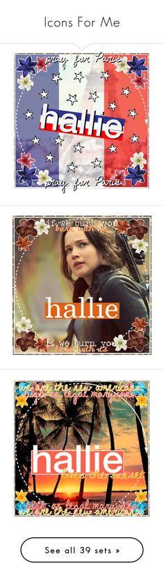 """Icons For Me"" by halliec ❤ liked on Polyvore featuring halliesfutureicon, art, prayforparis, Olympianicons, thesassypraetorqueen, oceanadrianna, icecreamcateicons, 100iconcontest, pinkicons and halliesbattleday3"