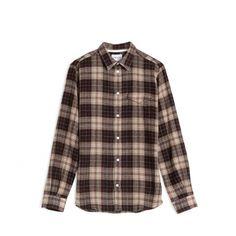 Norse Projects Anton Loose Weave Gauze Shirt (Khaki)