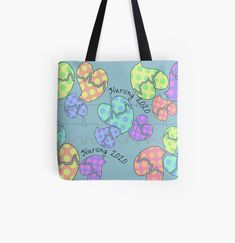 Cardiac Rhythms, Cotton Tote Bags, Reusable Tote Bags, Gabel, Nursing Students, Sell Your Art, Poplin Fabric, Shopping Bag, Finding Yourself