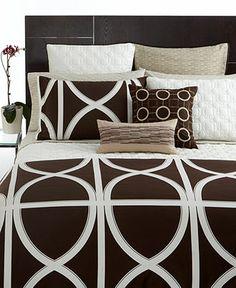 Hotel Collection Bedding, Transom Espresso Collection - Bedding Collections - Bed & Bath - Macy's