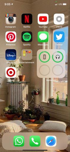 Phone Organization, Homescreen, Netflix, Ios, Messages, Entertaining, Iphone, Wallpaper, Instagram