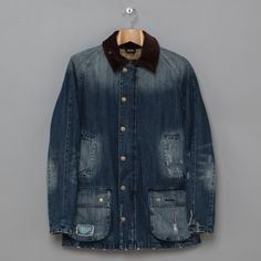 Barbour Drysdale in Denim