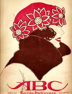 Jorge Barradas, ABC Magazine Cover, 1920's