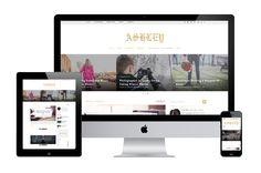 Ashley – A WordPress Blog Theme