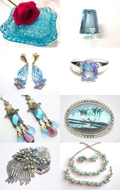 Blue is the Color by Ann on Etsy--Pinned with TreasuryPin.com