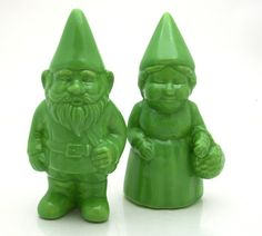 mr. and mrs. garden gnome