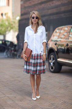 plaid skirt | It List