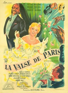 Affiche : Valse de Paris (La) - (60x80) in DVD, cinéma, Objets de collection, Affiches, posters | eBay #chrisdeparis 330€