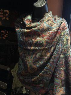 62c0b8570d86ba Nemesis Vintage Paisley Brocade Pashmina Scarf Wrap shawl #brocade #nemesis  #paisley #pashmina