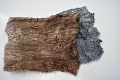 Mulberry Silk Cocoon Sheet Fabric Hand Dyed Brown Grey Mix Mulberry Silk, Texture Art, Needle Felting, Fiber Art, Brown And Grey, Fabric, Color, Tejido, Tela