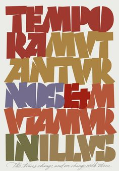 Rick Cusick feature on Made in the Middle Typography Letters, Lettering, Penmanship, Envy, Communication, Stencils, Middle, Posters, Graphics