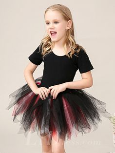 2016 Little Girls Performance Dress Flower Girls Skirt