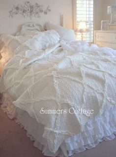 Beach House Linens for Shabby Chic Romantic Homes Chris Tyborski via Kayola Skinner onto SHABBY CHIC