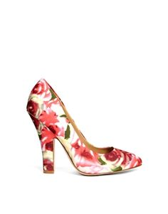 ASOS PREDICT Rosey Pointed High Heels.