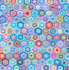 African Flower afghan by andamento