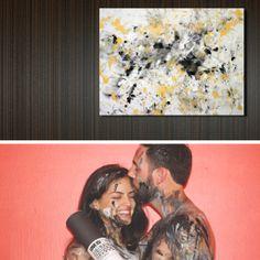 Capture your love on canvas.  Love Is Art Kit - Custom Edition www.loveisartkit.com