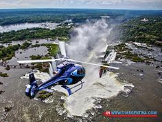 Fly over the Iguazu falls on helicopter The Iguazu River breaks of brutal form between the border of two countries such as Argentina and Brazil providing one of the best scenes of wild nature that can be seen in the world. Read more in link >>> Check your #Travel #Tours #Packages #Vacations at #IguazuFalls  in #Argentina . Different #destinations are waiting for You! 01 Argentina Travel Agency