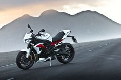 Triumph Street Triple R - definitely prefer the white out of the available models to choose from