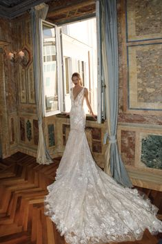 The Glamourous & Luxurious Ever After Wedding Dress Collection By Birenzweig 25