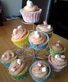 Olivera Markovic Marshalls' Daughter Helena helped her bake these delicious cupcakes to sell at school!